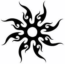 tribal sun design this one has been on my mind for years
