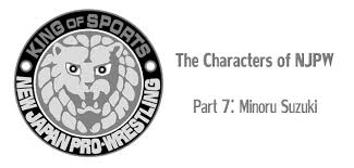 suzuki emblem the characters of njpw part 7 minoru suzuki u2013 guilherme jaeger