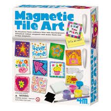 4m magnetic tile art creative kidstuff