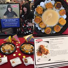 hanukkah demo at ralphs latke recipe card kosher in