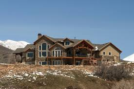 making your utah home look like a true mountain home a garage doors