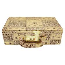 bridal makeup box wedding bridal silver makeup box jewellery box vanity box bangle box