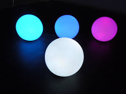 led balls orbs and globes led glow furniture rental