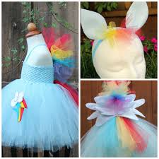 my little pony rainbow dash costume rainbow dash 3 item
