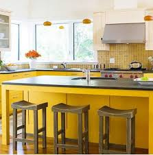 backsplash for yellow kitchen lemon yellow kitchen