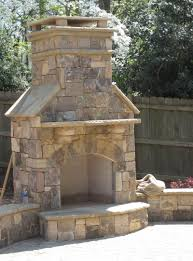 outdoor fireplace mantel home design ideas