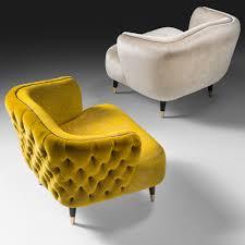 Italian Designer Velvet Tub Chair Juliettes Interiors Chelsea - Designer tub chairs