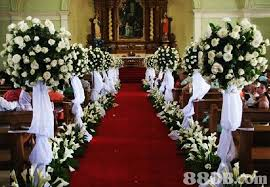 church decorations for wedding beautiful church wedding flower arrangements flower decorations