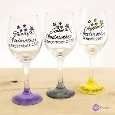 godmother wine glass godmother wine glass gift res designs