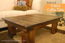 reclaimed pallet coffee table mylitter one deal at a time