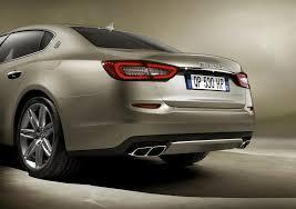 new maserati sedan new maserati quattroporte rear view