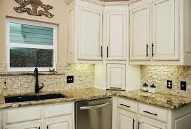 Split Face Stone Backsplash by Richardson Kitchen Traditional Kitchen Dallas By