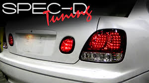 2000 lexus gs300 accessories specdtuning installation video 1998 2005 lexus gs300 gs400 led