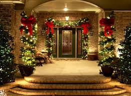 christmas garland with lights outdoor christmas garland with lights christmas2017