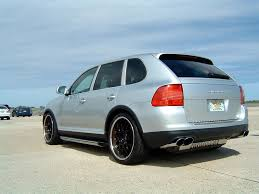 Porsche Cayenne 955 Exhaust - nice cargraphic exhaust for tt 6speedonline porsche forum and