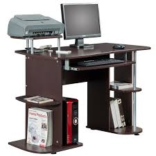 Computer Desk Work Station Deluxe All In One Computer Desk Workstation Free Shipping Today