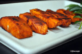 Bake Salmon In Toaster Oven Life Scoops Baked Nadan Fish Fry Baked Salmon With Indian Spices