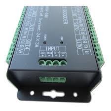 dmx led strip lights aliexpress com buy 24ch 24channel easy dmx512 dmx decoder led