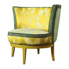 retro swivel chairs swivel barrel chairs accent chair pair of swivel tub chairs by