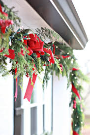 to decorate to decorate christmas window boxes and outdoor garland