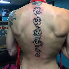 tattoo down the spine ornament best tattoo ideas gallery