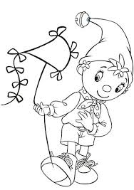 28 noddy images draw colouring pages
