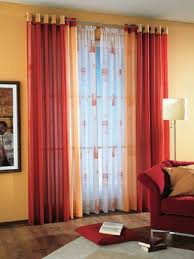 Two Curtains In One Window How To Combine Colors And Textures In Curtains Interior Design