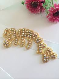 crystal trimmings for dresses promotion shop for promotional wholesale silver rhinestone appliqur crystal trimming bridal rhinestone sash for wedding dress