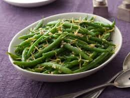 green beans with lemon and garlic recipe the neelys food network