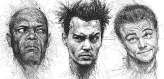 remarkable face sketches by vince low