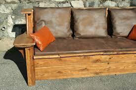 vieux canapé cuir vieux cuir