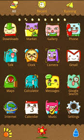 go launcher themes spongebob download the monster theme go launcher ex android apps on nonesearch com