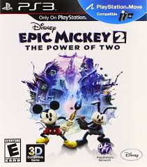 amazon com disney epic mickey 2 the power of two playstation 3