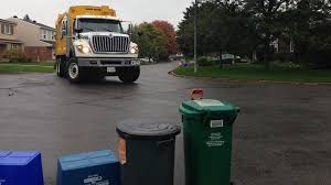 kitchener garbage collection coalition of ottawa candidates fights for weekly garbage pickup