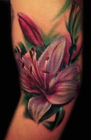 gorgeous flowers and sugar skull sleeve tattoos