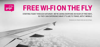 t mobile free inflight wifi t mobile free gogo wi fi for all travelers through saturday
