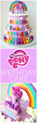 little pony tiered birthday cake the baking fairy
