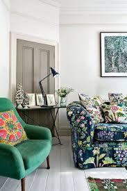 Floral Living Room Furniture Flower Power Floral Sofa Living Rooms And Floral