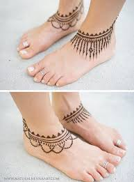 Henna Decorations Best 25 Ankle Henna Tattoo Ideas On Pinterest Henna Ink Small