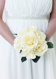 white wedding bouquets silk wedding bouquets silk wedding flowers artificial bouquets