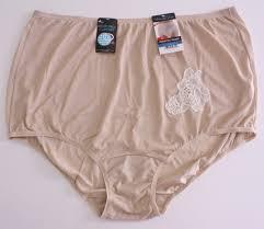 Vanity Fair Hi Cut Panties Vanity Fair 13081 9 Tan Perfectly Yours 077 Lace Nylon Brief