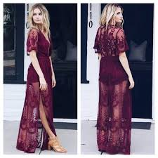 lace maxi dress honey punch top seller last wine lace maxi dress from
