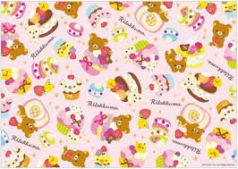 themed wrapping paper 73 best rilakkuma images on rilakkuma plushies and