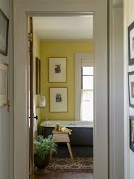 Gray And Yellow Bathroom Ideas by Bathroom Farmhouse Trend Bathroom In Yellow And Gray Fashionable