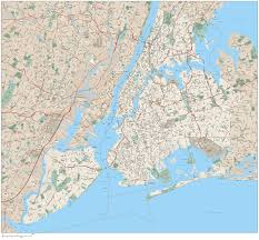 detailed map of new york road map new york city travel maps and major tourist attractions