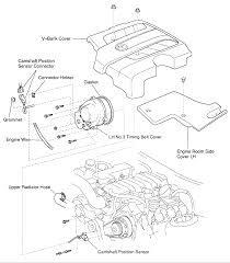 lexus gs430 coolant cam position sensor located v8 camshaft position sensor