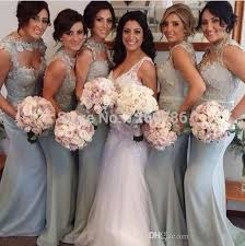 silver bridesmaid dresses cap sleeve silver bridesmaid dress see through floral lace