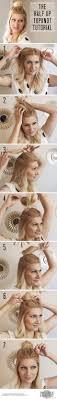 Einfache Hochsteckfrisurenen You by 22 Easy Half Up Hairstyle Tutorials You To Try Hüllen