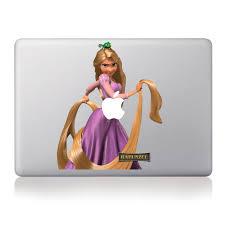 anime long hair princess tangled rapunzel dance vinyl decal laptop
