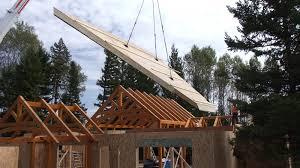 Sips Cabin by Timberframe U0026 Sips West Eco Panels Ltd